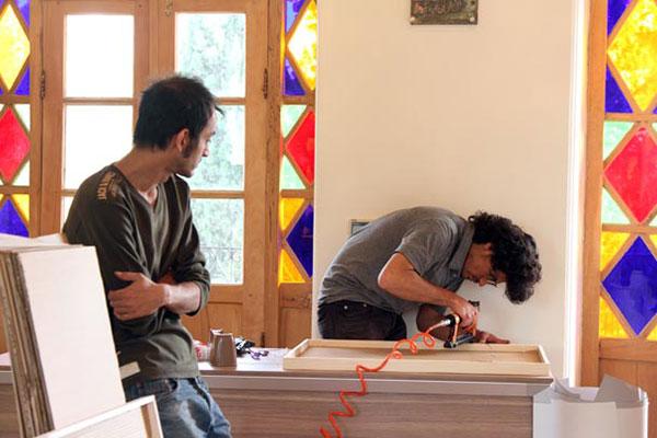 نمایشگاه در آغاز کلمه بود موزه گرافیک ایران