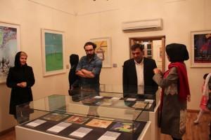 افتتاحیه نمایشگاه با چشمهای کودکی